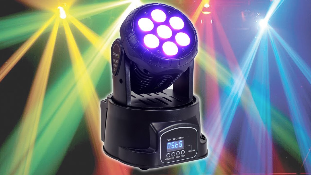 Curran Entertainment moving head intelligent lighting