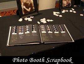 Curran Entertainment Enclosed photo booth scrapbook