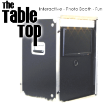 Curran Entertainment Table top photo booth